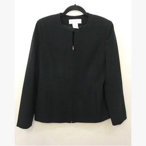 JONES NEW YORK PLATINUM - black blazer